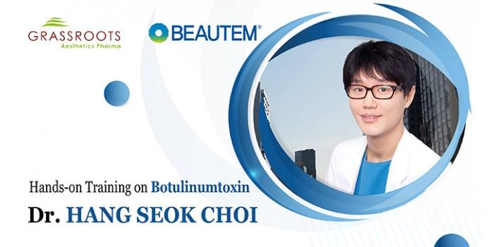 Khóa huấn luyện Kỹ thuật tiêm TOXIN cùng Dr. HANG SEOK CHOI